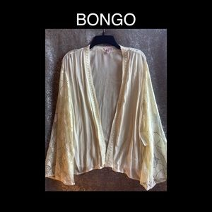 Cute Cream BONGO Cover Up Size Medium